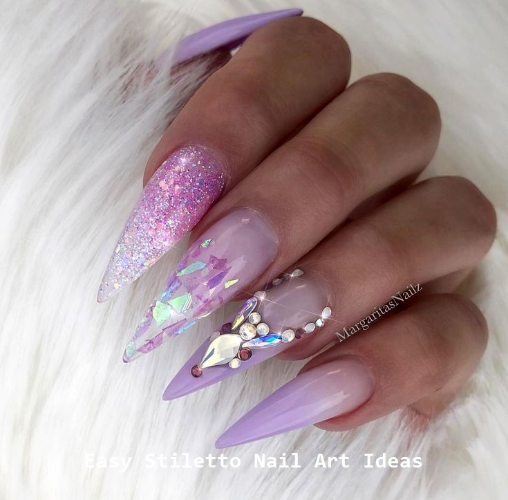 30 große Stiletto Nail Art Design-Ideen #nailart – Stylish Stiletto Nails
