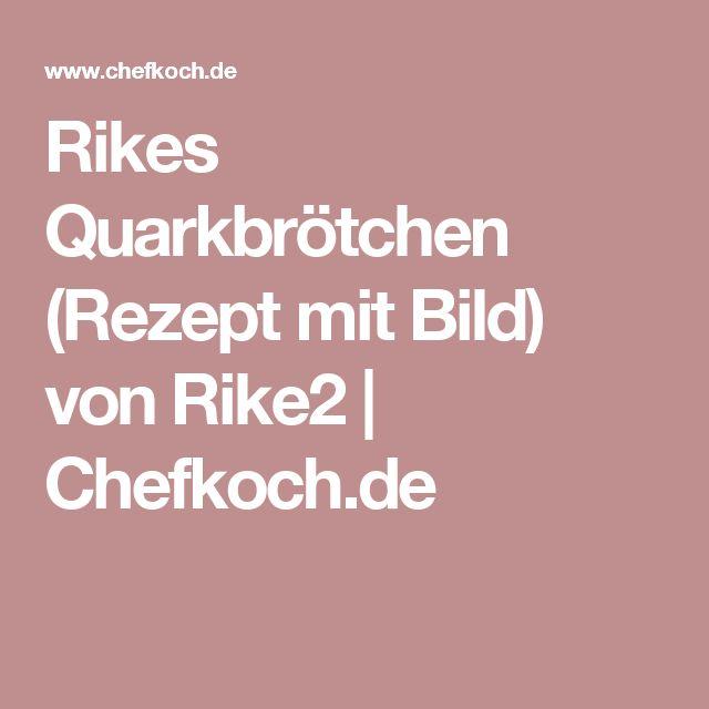 Rikes Quarkbrötchen (Rezept mit Bild) von Rike2   Chefkoch.de