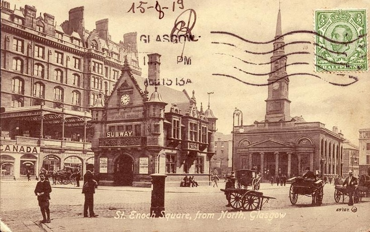 St Enoch Square, Glasgow.