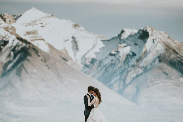 Mountain lovers captured by  by Carey Nash