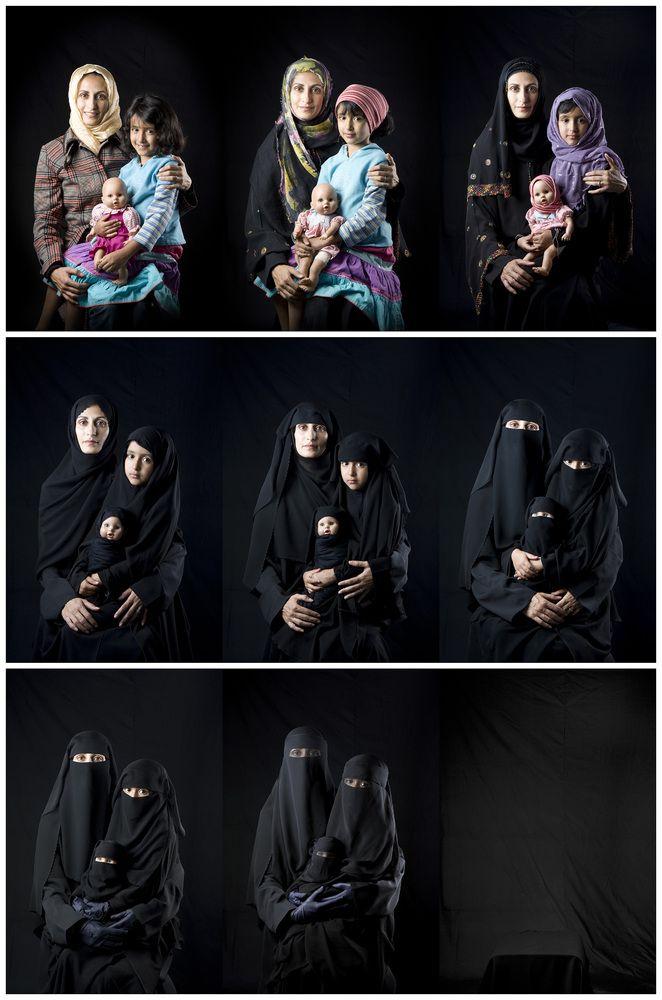 'She Who Tells a Story' | Boushra Almutawakel | Mother, Daughter, Doll series, 2011
