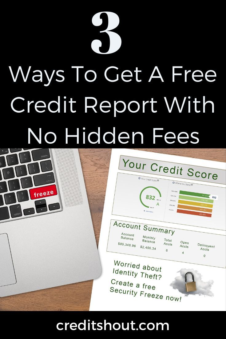 How to freeze your credit reports online