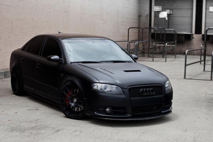 matte black Audi S4