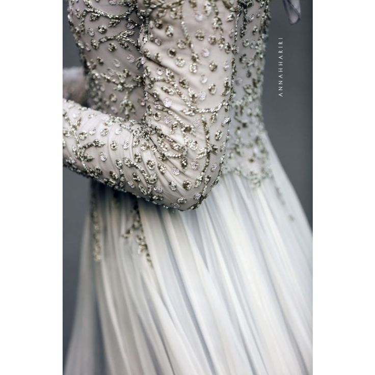 Delphinium Gown by Anna Hariri