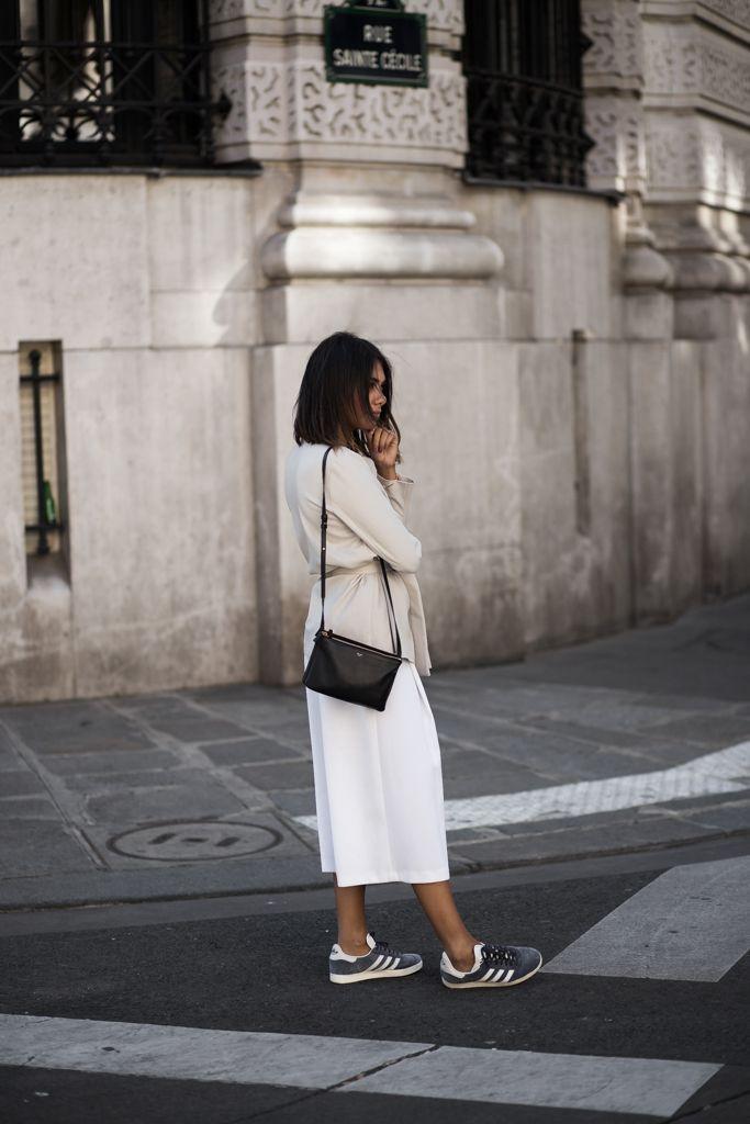 theadorabletwo_adidas_gazelle_blau_grau_max_and_co_blazer_zara_culotte_paris_streetstyle_fashion_week