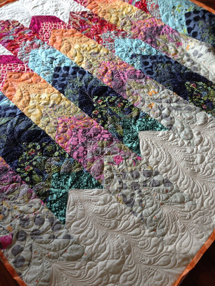 Quilted by Małgorzata Lehmann from Silesian Quilt