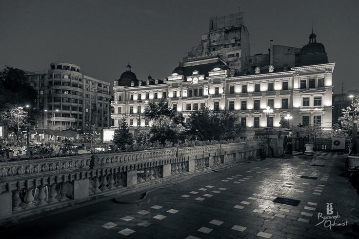Grand Hotel du Boulevard - Bucharest.  All credits to facebook.com/BucurestiOptimist.