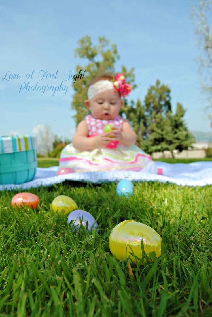Baby Easter picture