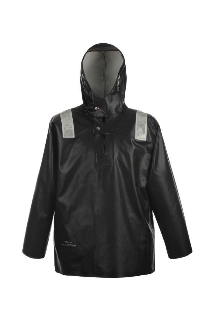 КУРТКА ШТОРМОВАЯ ВЛАГОЗАЩИТНАЯ Артикул: 3088 Куртка одевается через голову. Рукава с внутренними манжетами. Призматические ленты на куртке обеспечивают защиту рабочих при плохой видимости. Куртка с двусторонними герметичными швами, выполнена из влагостойкой, трудновоспламеняемой и прочной ткани ПВХ/Хлопок. Рекомендуется для рыболовецких работ в тяжелых атмосферных условиях. Защищает от дождя и ветра. Ткань отличается большой стойкостью к соленой воде.