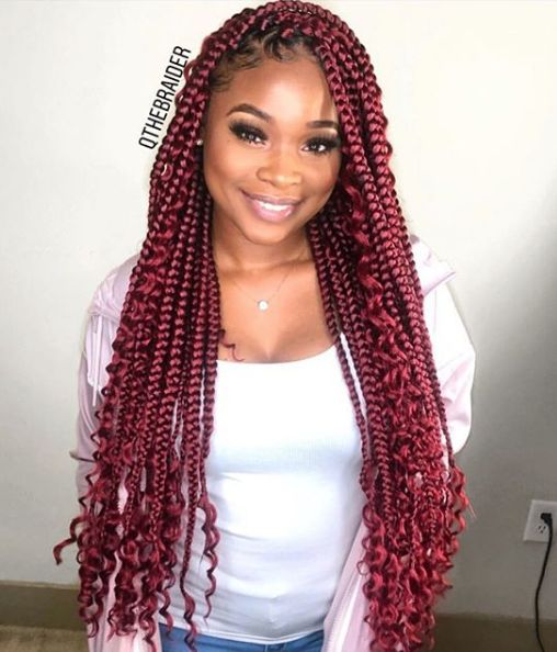 5 Summer Protective Styles For Black Women Braids With