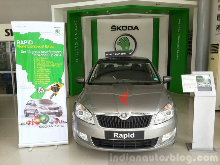 Nepal – Skoda Rapid World Cup Edition launched