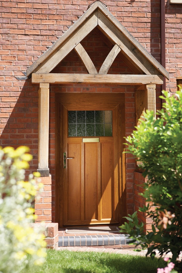 PVCu panel Cottage style door in Light Oak.  Like this design? Live In Design provides a wide range of stunning PVCu Doors! http://www.live-in-design.co.uk/pvcu_doors_eastleigh.html