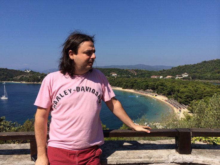 Koukounaries, Skiathos Island Greece Aug 2014
