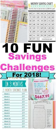 10 Game Changing and FUN money challenges for 2018! Easy ways to save money and budget for the new year. 52 week savings challenges, savings goals, budgeting for beginners, creating an emergency fund #savingschallenge #savingmoney #lifehacks #budgeting #NewYearsResolutionhairs