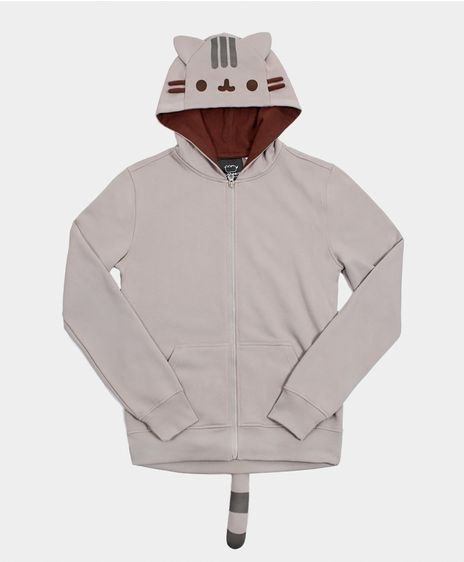 This Pusheen the Cat hoodie. | 22 Insanely Cozy Things That'll Make You Crave Colder Weather