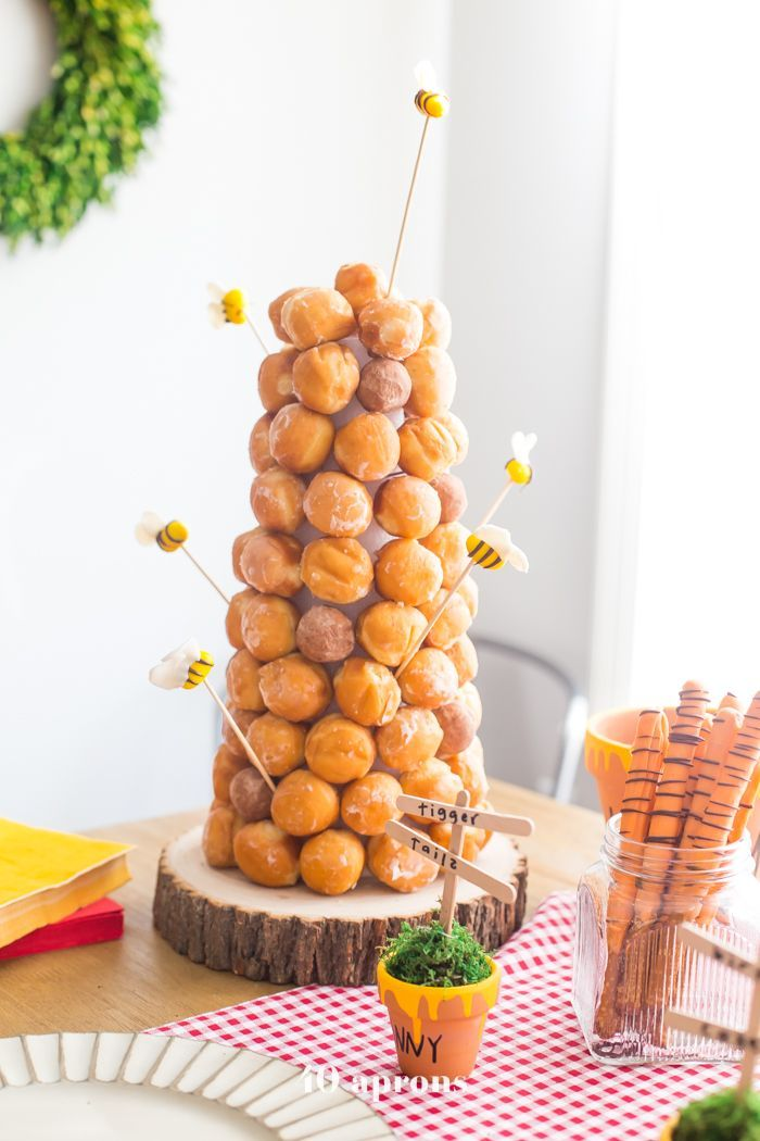 Leos DIY Winnie the Pooh Geburtstagsfeier Toys, Kids & Baby #DIY #Geburtstagsfei…