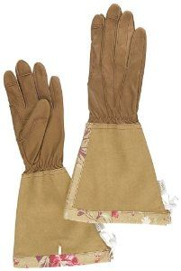 Garden Gloves with long gauntlet arms for her