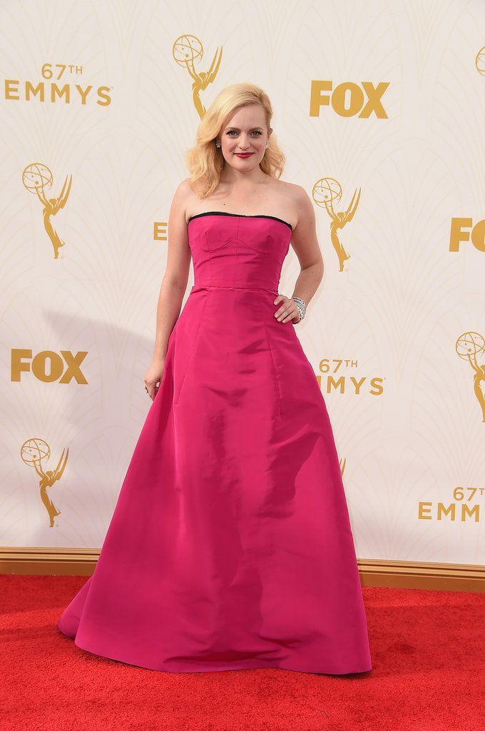 Elisabeth Moss on the Emmys Red Carpet |