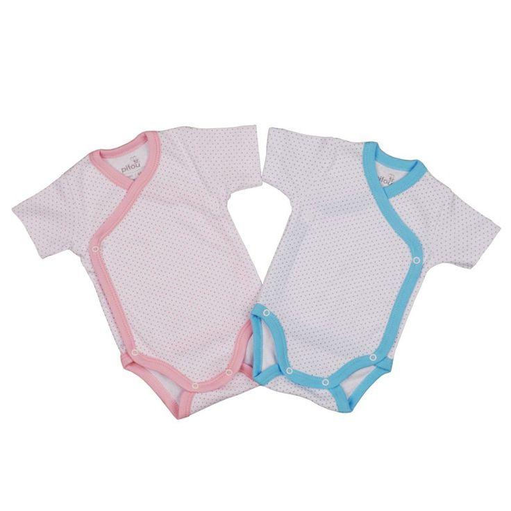 Pifou stie ca body-urile sunt prietenii mamicilor. Body-ul model 10 Pifou este fabricat din bumbac natural, certificat internațional.