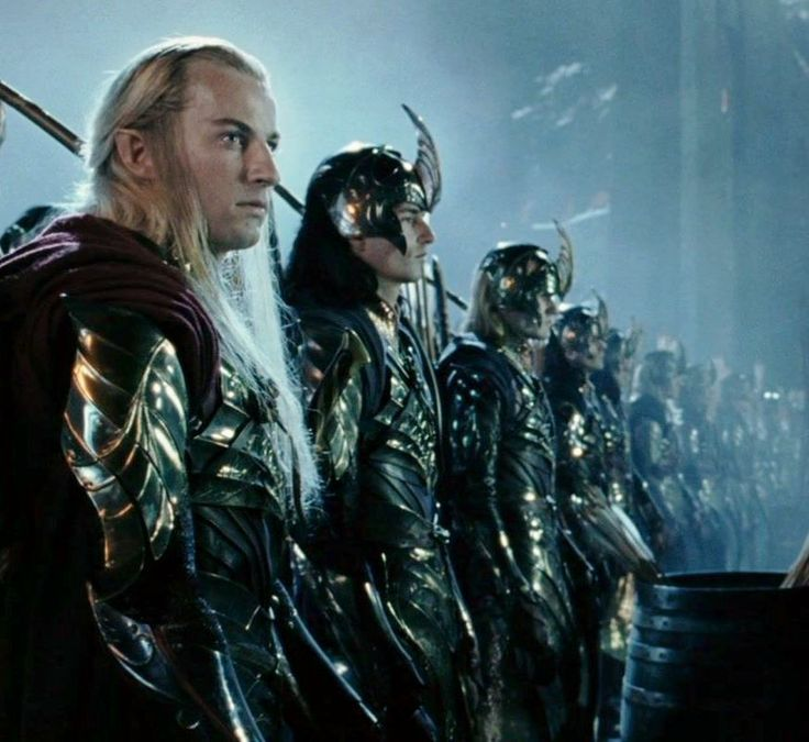 Day 10: Most Epic Armor - This was easy for me. I immediately thought of the elves' armor, particularly that of the Lothlorien elves at the battle of Helm's Deep. :D And I think my second favorite would be Thranduil's armor in the Desolation of Smaug... #30DayMiddleEarthChallenge
