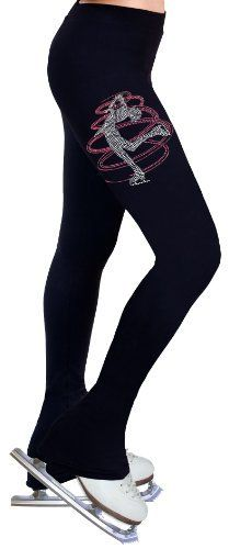 Ice Figure Skating Dress Practice Pants with Rhinestones R230RP - Adult Medium by ny2 Sportswear. $54.99. Age: 14+. Waist(inches): 27. Hip(inches): 31.5. Inseam(inches): 32.5. Thigh(inches) : 18. * Made with 88% SUPPLEX® fiber plus 12% LYCRA® fabric with all the comfort and fit that you need.     * Cotton-feel soft touch and aesthetics.     * 4-way stretch providing muscle support and allowing freedom of movement.     * Heavy weight fabric keeps you warm during ...