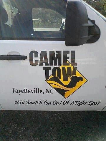 ~ camel tow...not toe...tow
