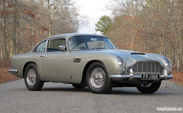 1964 Aston Martin DB5 Coupé - James Bond's Sexiest Car
