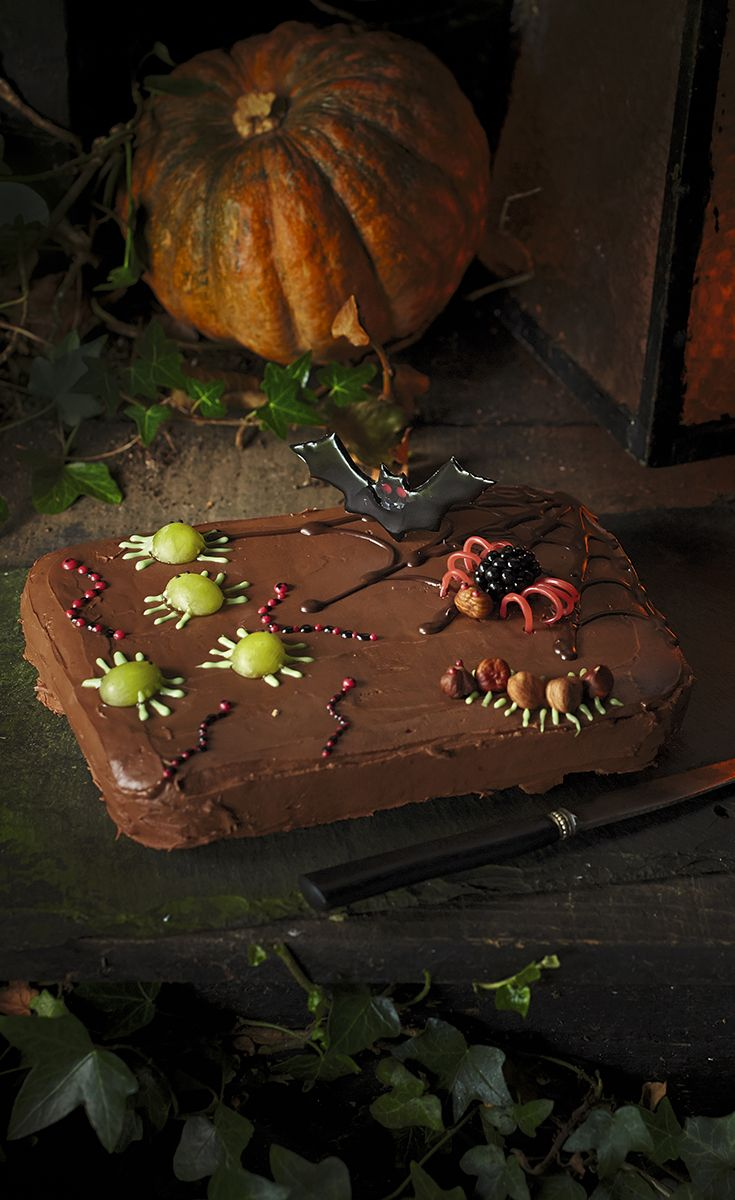 Get the kids baking this Halloween with our Creep Creatures Traybake, they'll love designing and decorating their own insects. Find the recipe on the Waitrose website.
