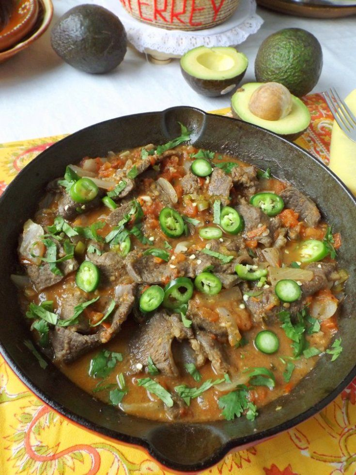 Bistec a la Mexicana (Braised Beef)