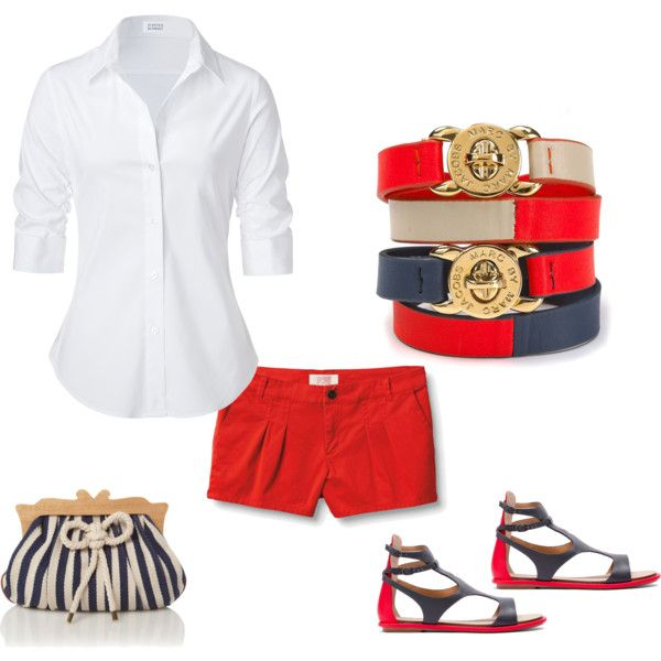 fourth of July outfit... Or July 26th (Liberian independence day)