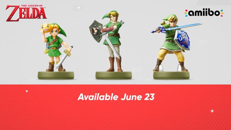 New Zelda and Smash Amiibo Announced  During todays Nintendo Direct presentation Nintendo revealed three new amiibo for The Legend of Zelda series along with a release date for Cloud Corrin and Bayonetta amiibo the final characters added to Smash Bros. Wii U/3DS as DLC.  Majoras Mask Link Twilight Princess Link and Skyward Sword Link are new additions for The Legend of Zelda 30th anniversary series. Nintendo said the toys-to-life figures will be released on June 23. Each amiibo is modeled…