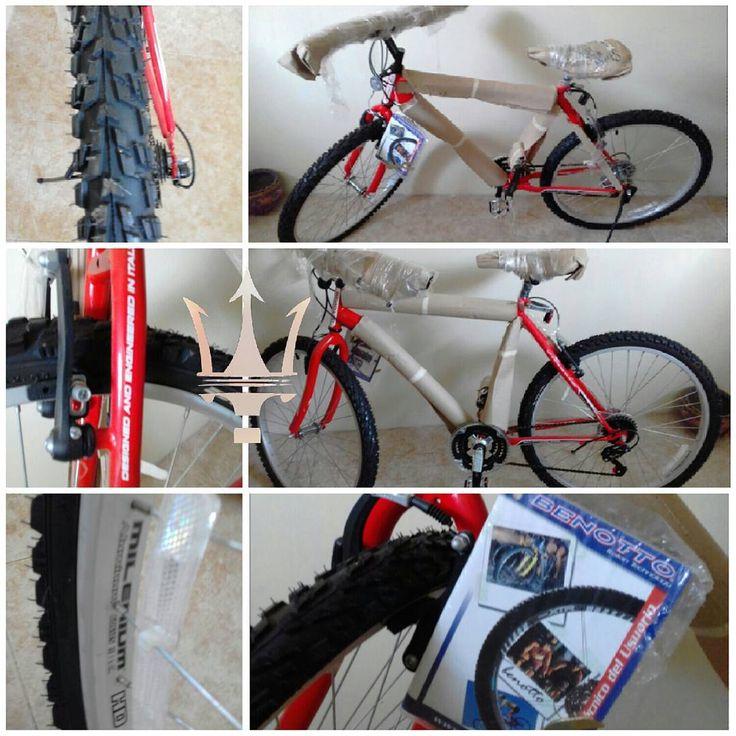 ⚠A LA VENTA ▶Bicicleta ▶Benotto ▶Precio: 400.000. Bsf (negociable) ▶Contacto: 0412- 5893723  Extras: rin 26, 18 velocidades, nunca usada, impecable.  Ideal para regalar!  #Venta #vehiculos #carros #autos #motos #bicicletas #camionetas #maquinaria #repuestos #oro #compro #vendo #chevrolet #toyota #ford #fiat #honda #renault #like #happy #day #instamoment #instagram #salud #bienestar #tuyo #mio #bicicletas #motos #benotto http://unirazzi.com/ipost/1511710666736879426/?code=BT6rNeOBUdC