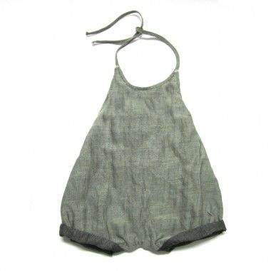 MILLA short overall for baby girls