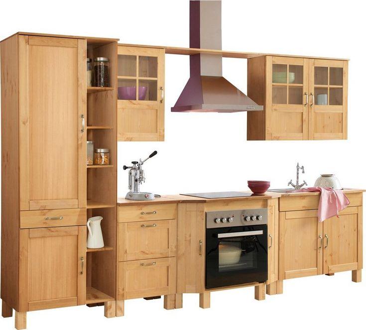 Küchenblock »Alby« Breite 325 cm - küchen arbeitsplatte sonoma eiche