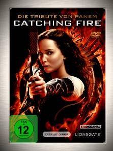 Catching Fire. Die Tribute von Panem - Gefährliche Liebe (DVD). Ab 14 Jahren.