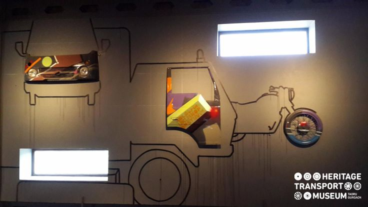 A beautiful wall decor using various mechanical parts!