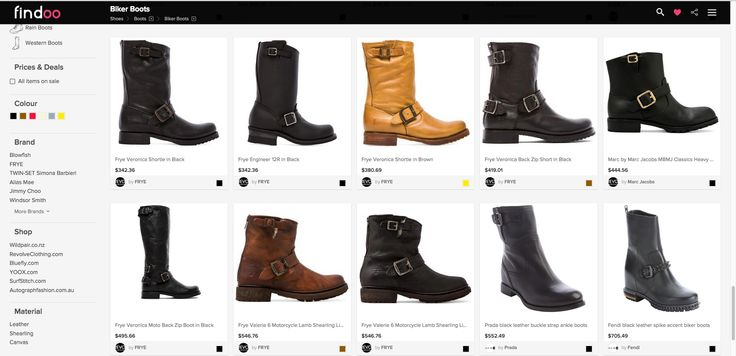 Discover a huge variety of boots. Biker boots for women and men on Findoo Australia.
