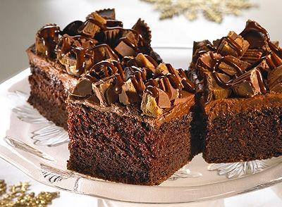 Recette de Gâteau à la croustade de moules au beurre d'arachides REESE