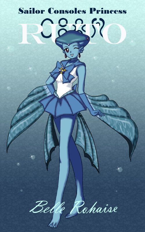 """Princess Ruto, the Sage of Water, from """"The Legend of Zelda: Ocarina of Time"""""""