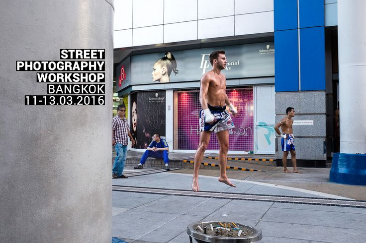 Join me for a 3-day street photography workshop in Bangkok, Thailand! 11–13 March 2016 / Learn more: http://kulbowski.com/bkk