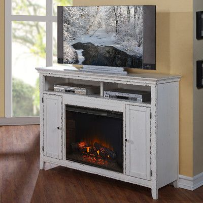 Legends Furniture Brookside TV Stand with Electric Fireplace