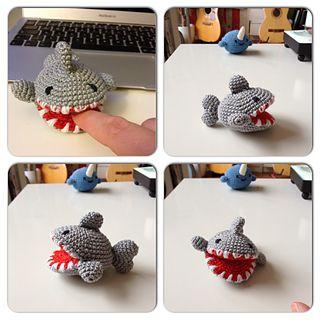 *Free Crochet Pattern: Shark Amigurumi - der gehäkelte Hai by Franziska Zölzer