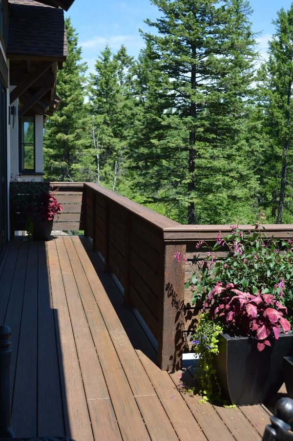 2 6 Decking Material Is No 2 Grade Or Better Quality Which Minimizes Knots And Provide Structural Integrity The Ranchwood And A Decking Material Deck Outdoor