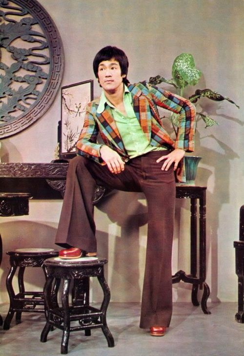 1970 fashion...Bruce Lee