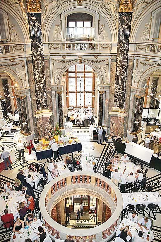 Dinner at Arthistory museum Vienna / Kunsthistorisches Museum Wien KHM #feelaustria
