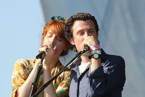 Florence Welch and The maccabees