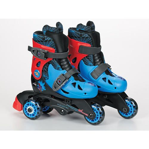 Rollerblades And Toys : Ultimate spider man convertible skates bravo sports