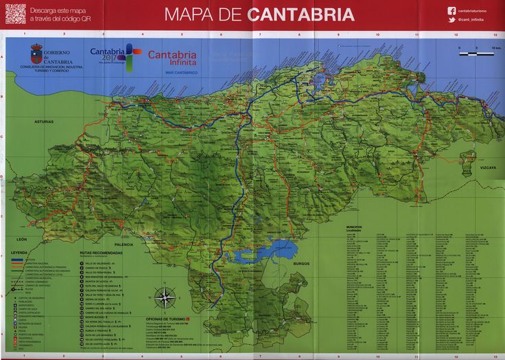 https://flic.kr/p/US8eMq | Mapa de Cantabria; 2013, Spain