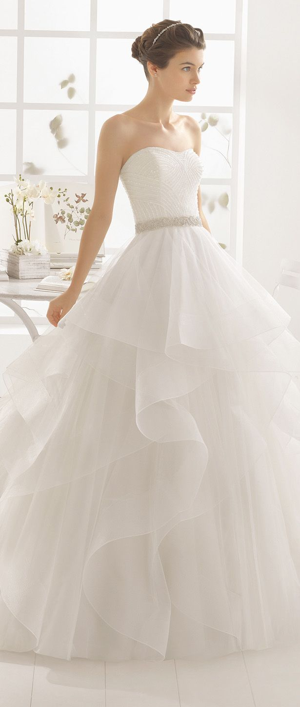 Aire Barcelona 2016 Wedding Dress - Vestido de Novia