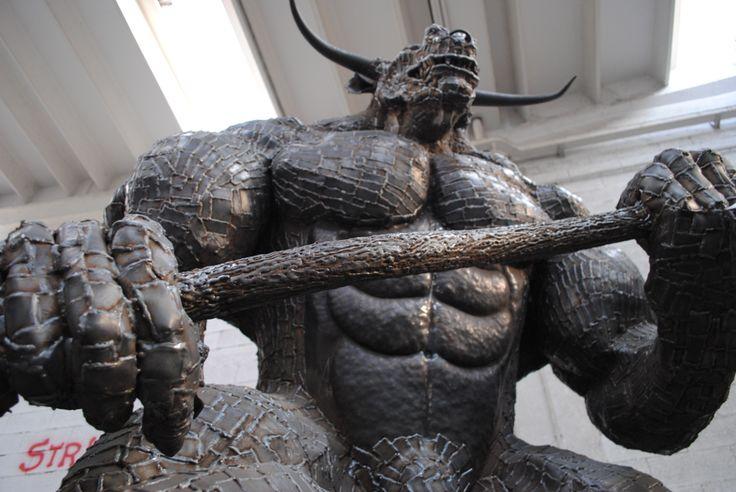 Scuplture of Minotaurus / Mythology /